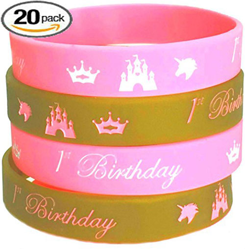1st Birthday Wristbands