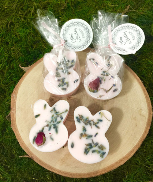 Bunny Gift Soap Favors