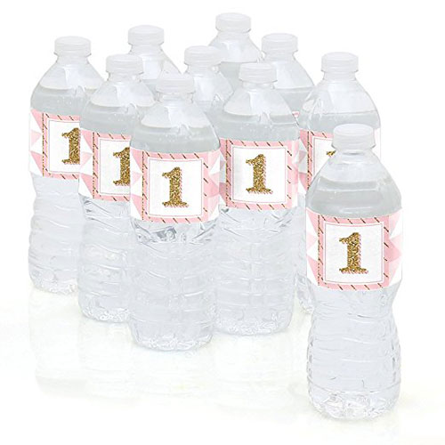Fun To Be One Water Bottle Sticker Labels