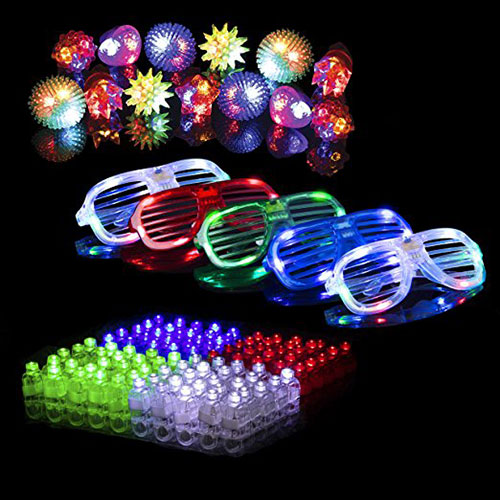 50 Led Party Favors Pack