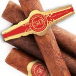 50th Birthday Custom Cigar Bands Aged To Perfection