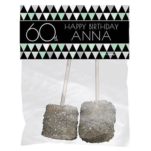 Best Day Ever 60th Personalized Favor Bags