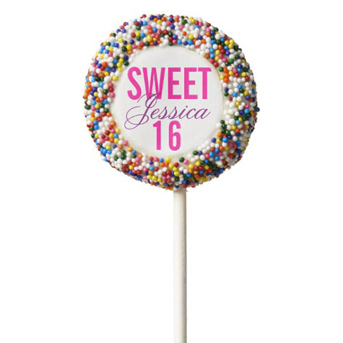 Candy Theme Sprinkles Sweet 16 Party Favor