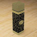 Personalized 50th Birthday Wine Gift Box