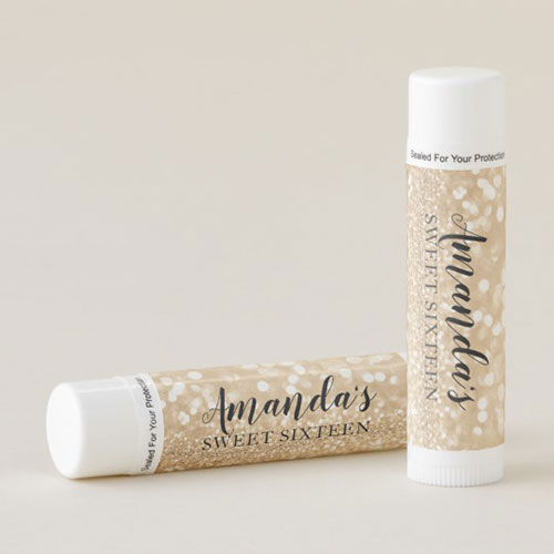 Personalized Lip Balm Party Favors