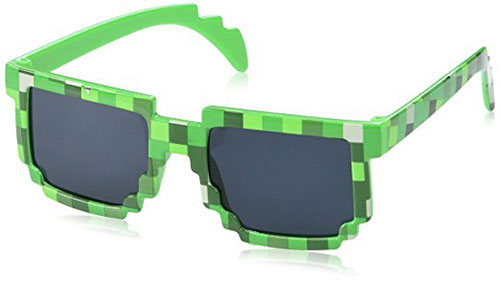 Pixels Make Perfect 8 Bit Pixelated Sunglasses